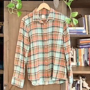 J. Crew Boy Shirt Flannel